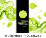 abstract color wave design... | Shutterstock . vector #400536253