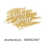 vector illustration of golden... | Shutterstock .eps vector #400562407