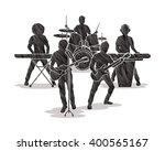 music bands designed using... | Shutterstock .eps vector #400565167