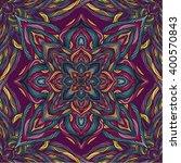 vector nature seamless pattern... | Shutterstock .eps vector #400570843