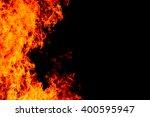 fire background | Shutterstock . vector #400595947