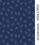 denim seem cool pattern | Shutterstock .eps vector #400617853