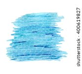 watercolor  surface of the water   Shutterstock .eps vector #400619827