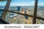 las vegas cityscape panorama...