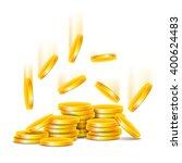coins | Shutterstock .eps vector #400624483
