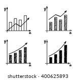 trendy hand drawn vector bar... | Shutterstock .eps vector #400625893