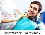portrait of male.  smile face.... | Shutterstock . vector #400693657