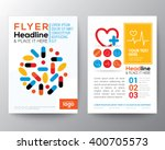 health care and medical poster... | Shutterstock .eps vector #400705573