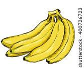 vector sketch yellow bunch of... | Shutterstock .eps vector #400726723