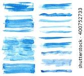 watercolor hand painting... | Shutterstock .eps vector #400752733