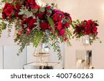 table setting at a luxury... | Shutterstock . vector #400760263