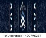 geometric ethnic oriental ikat... | Shutterstock .eps vector #400796287