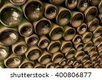 Bottles Texture Wallpaper