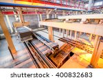 production process of aerated... | Shutterstock . vector #400832683