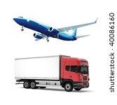 truck | Shutterstock . vector #40086160
