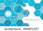 technology cell abstract... | Shutterstock .eps vector #400891357