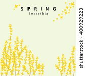A Forsythia Themed Spring...