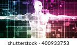 healthcare technology and... | Shutterstock . vector #400933753