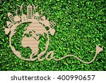 eco design   green and...   Shutterstock . vector #400990657