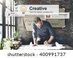creative ideas imagination... | Shutterstock . vector #400991737