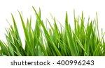 green grass isolated | Shutterstock . vector #400996243