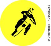 motocross enduro rider    Shutterstock .eps vector #401006263