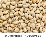 roasted and salted pistachios... | Shutterstock . vector #401009593