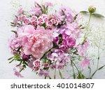 Summer Flower Bouquet Of...