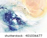 abstract sky with shiny color... | Shutterstock . vector #401036677