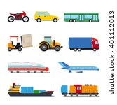 transport flat icon. perfect... | Shutterstock .eps vector #401112013
