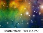 astrology mystic  background.... | Shutterstock .eps vector #401115697