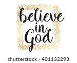 believe in god inspirational...