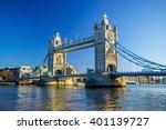 Tower Bridge In London  Uk Wit...