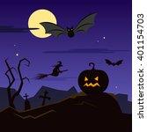 halloween | Shutterstock . vector #401154703