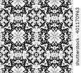 detailed abstract black and... | Shutterstock . vector #401170963