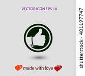 like icon   vector illustration.... | Shutterstock .eps vector #401197747