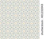 floor tiles   seamless vintage... | Shutterstock .eps vector #401232043