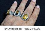 Crystal Ring For Men
