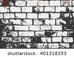 abstract  brick wall surface.... | Shutterstock .eps vector #401318353