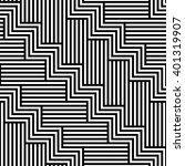 geometric seamless pattern.... | Shutterstock .eps vector #401319907