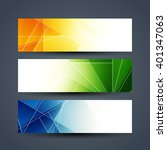 abstract colorful web header... | Shutterstock .eps vector #401347063