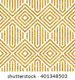 vector golden seamless... | Shutterstock .eps vector #401348503