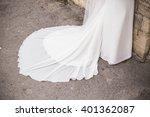 wedding dress on the rack   Shutterstock . vector #401362087