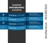 business infographics vector... | Shutterstock .eps vector #401381563