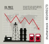 Oil Price Design   Vector...