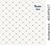 vector pattern  dotted diamond... | Shutterstock .eps vector #401495617