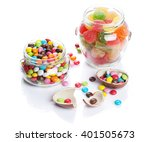 Colorful Candies And Marmalade...