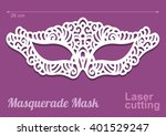 beautiful laser cut vector die... | Shutterstock .eps vector #401529247