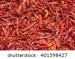 dried red chili  food... | Shutterstock . vector #401598427