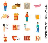 collection color icons... | Shutterstock .eps vector #401626933